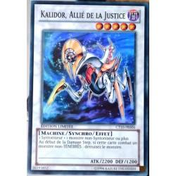 carte YU-GI-OH CT10-FR006 Kalidor, Allié De La Justice (Ally of Justice Catastor) -Super Rare NEUF FR