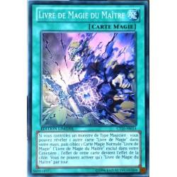 carte YU-GI-OH CT10-FR014 Livre De Magie Du Maître (Spellbook Of The Master) -Super Rare NEUF FR