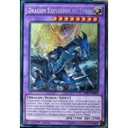 carte YU-GI-OH DRL2-FR004 Dragon Explosion Du Tyran Secret Rare NEUF FR