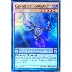 carte YU-GI-OH DUEA-FR002 Canon De Foucault (Foucault's Canon) -Super Rare NEUF FR