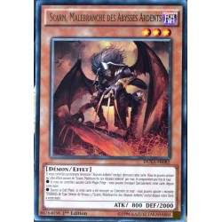 carte YU-GI-OH DUEA-FR082 Scarm, Malebranche Des Abysses Ardents (Scarm, Malebranche of The Burning Abyss) -Rare NEUF FR