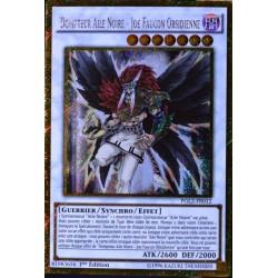 carte YU-GI-OH PGL2-FR012 Dompteur Aile Noire - Joe Faucon Obsidienne (Blackwing Tamer - Obsidian Hawk Joe) -Gold Secrète NEUF