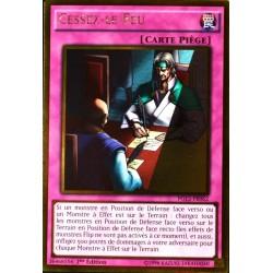 carte YU-GI-OH PGL2-FR062 Cessez-le-feu (Ceasefire) -Gold Rare NEUF FR