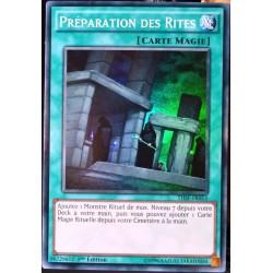 carte YU-GI-OH THSF-FR053 Préparation Des Rites (Preparation of Rites) -Super Rare NEUF FR