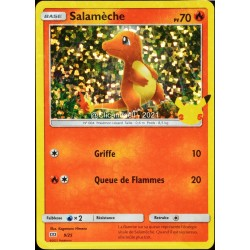 carte Pokémon 9/25 Salamèche HOLO - 70 PV Promo 25 Ans NEUF FR