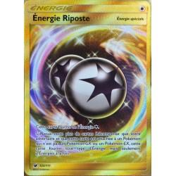 carte Pokémon 122/111 Energie Riposte SECRETE SL4 - Soleil et Lune - Invasion Carmin NEUF FR
