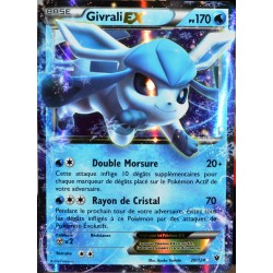 carte Pokémon 20/124 Givrali Ex 170 PV - ULTRA RARE XY - Impact des Destins NEUF FR