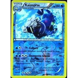 carte Pokémon 48/160 Kaimorse 150 PV REVERSE XY - Primo Choc NEUF FR