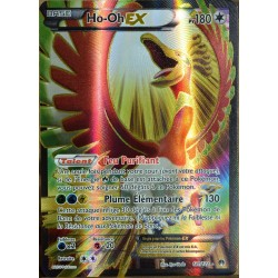 carte Pokémon 121/122 Ho-oh Ex 180 PV - ULTRA RARE - FULL ART XY - Rupture Turbo NEUF FR