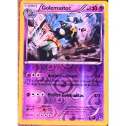 carte Pokémon 43/111 Golemastoc 130 PV RARE REVERSE XY Poings Furieux NEUF FR