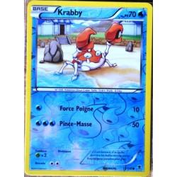 carte Pokémon 13/119 Krabby 70 PV - REVERSE XY04 Vigueur spectrale NEUF FR