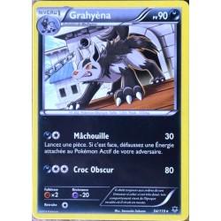 carte Pokémon 54/119 Grahyèna 90 PV RARE XY04 Vigueur spectrale NEUF FR