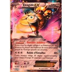 carte Pokémon 65/119 Exagide-EX 170 PV ULTRA RARE XY04 Vigueur spectrale NEUF FR