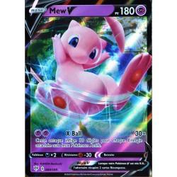 carte Pokémon 069/189 Mew-V EB03 - Epée et Bouclier - Ténèbres Embrasées NEUF FR