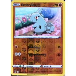carte Pokémon 086/189 Embrylex - Reverse EB03 - Epée et Bouclier - Ténèbres Embrasées NEUF FR