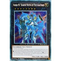 carte YU-GI-OH BLRR-FR033 Numéro 90 : Seigneur Photon Aux Yeux Galactique (Number 90 : Galaxy-Eyes Photon Lord) -Secret Rare NE