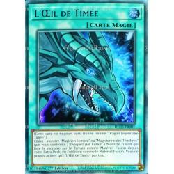 carte YU-GI-OH DLCS-FR007 L'Œil de Timée - Bleu Ultra Rare NEUF FR