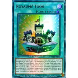 carte YU-GI-OH DLCS-FR074 Royaume Toon - Violet Ultra Rare NEUF FR