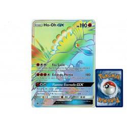carte Pokémon SM80 Ho-Oh GX JUMBO  190 PV - FULL ART Promo